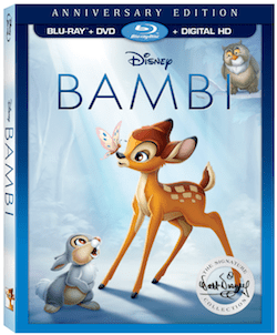 Disney's Bambi Signature Collection on Digital HD and Blu-ray