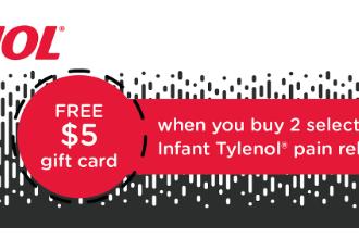 TYLENOL® Gift Card Deal at Target 5/14/17-5/20/17