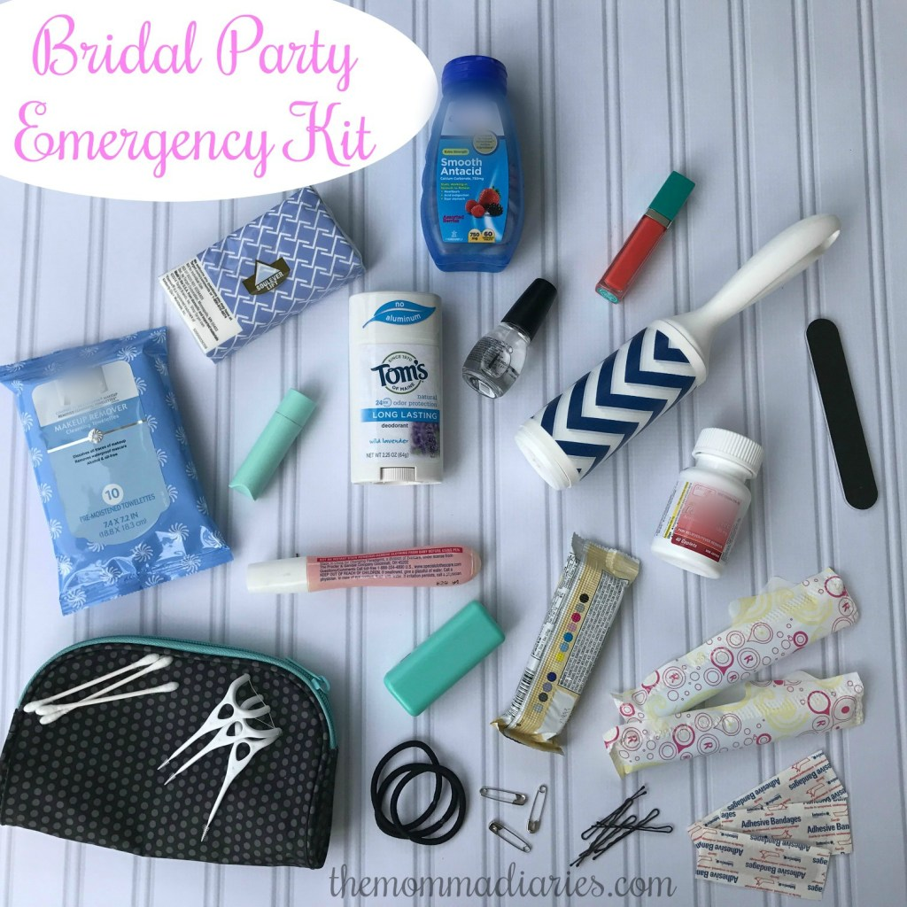 Bridal Party Emergency Kit