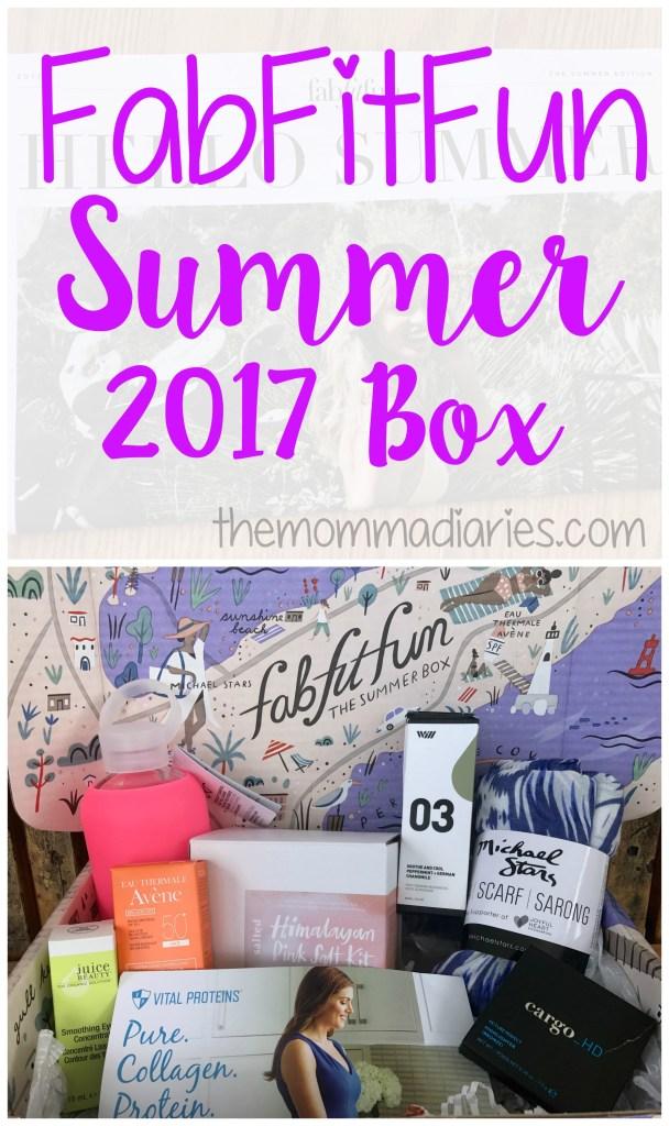 FabFitFun Summer 2017 Box, FabFitFun Promo Code, FabFitFun Review