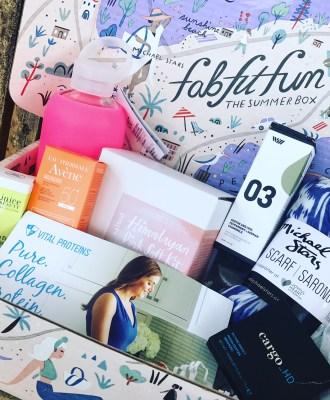FabFitFun Summer 2017 Box Reveal + Promo Code!!
