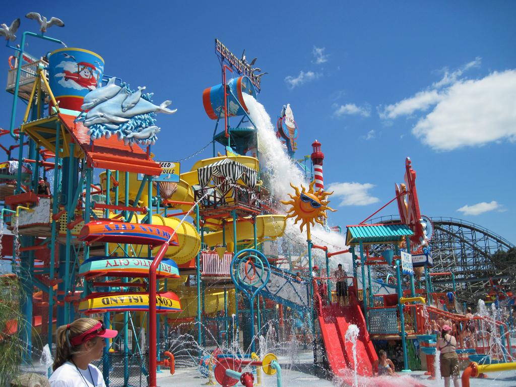 Hersheypark Boardwalk