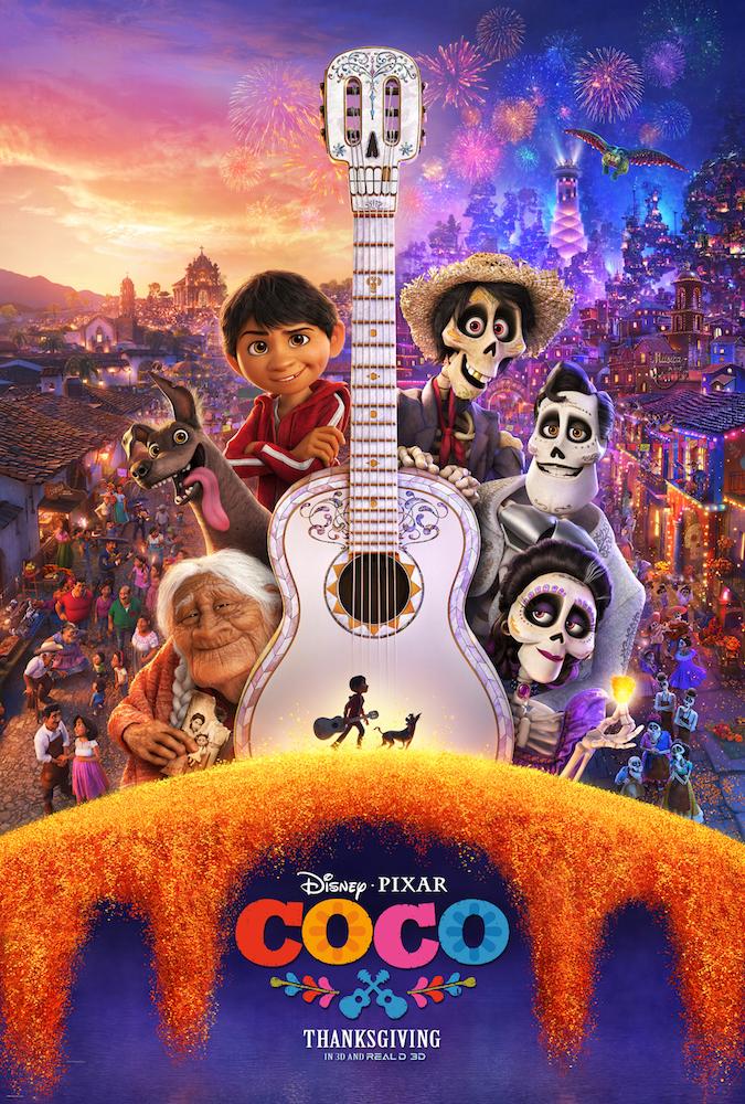 Disney Pixar's COCO Poster