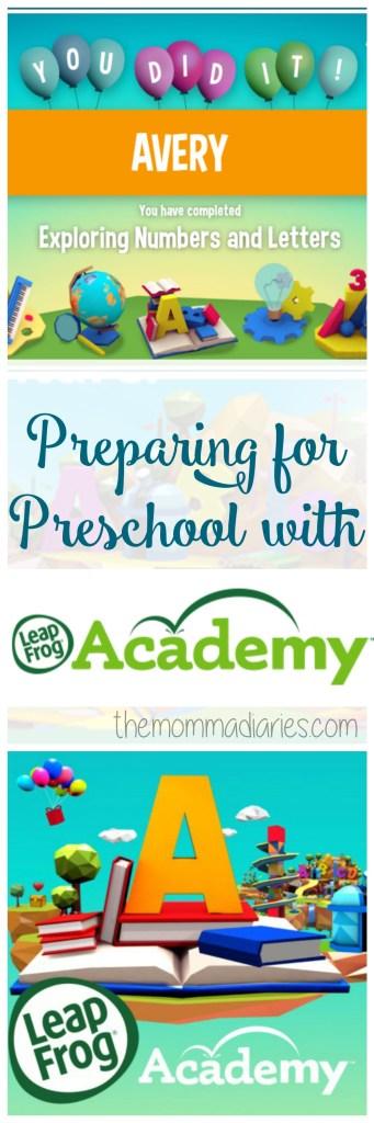 Preparing for Preschool with LeapFrog Academy