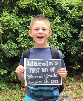 Happy 8th Birthday, Lincoln!