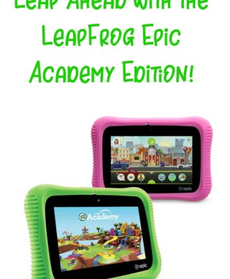 Leap Ahead with the LeapFrog Epic Academy Edition!