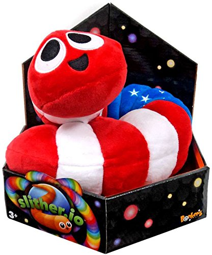 Slither.io Jumbo Bendable Plush
