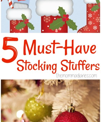 5 Must-Have Stocking Stuffers + $50 Gift Card Giveaway!