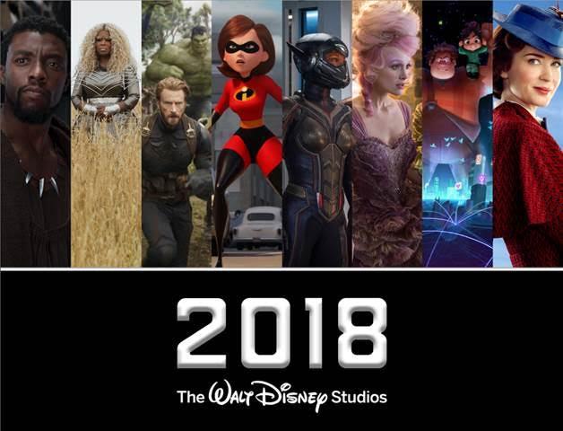2018 Walt Disney Studios Motion Pictures Slate