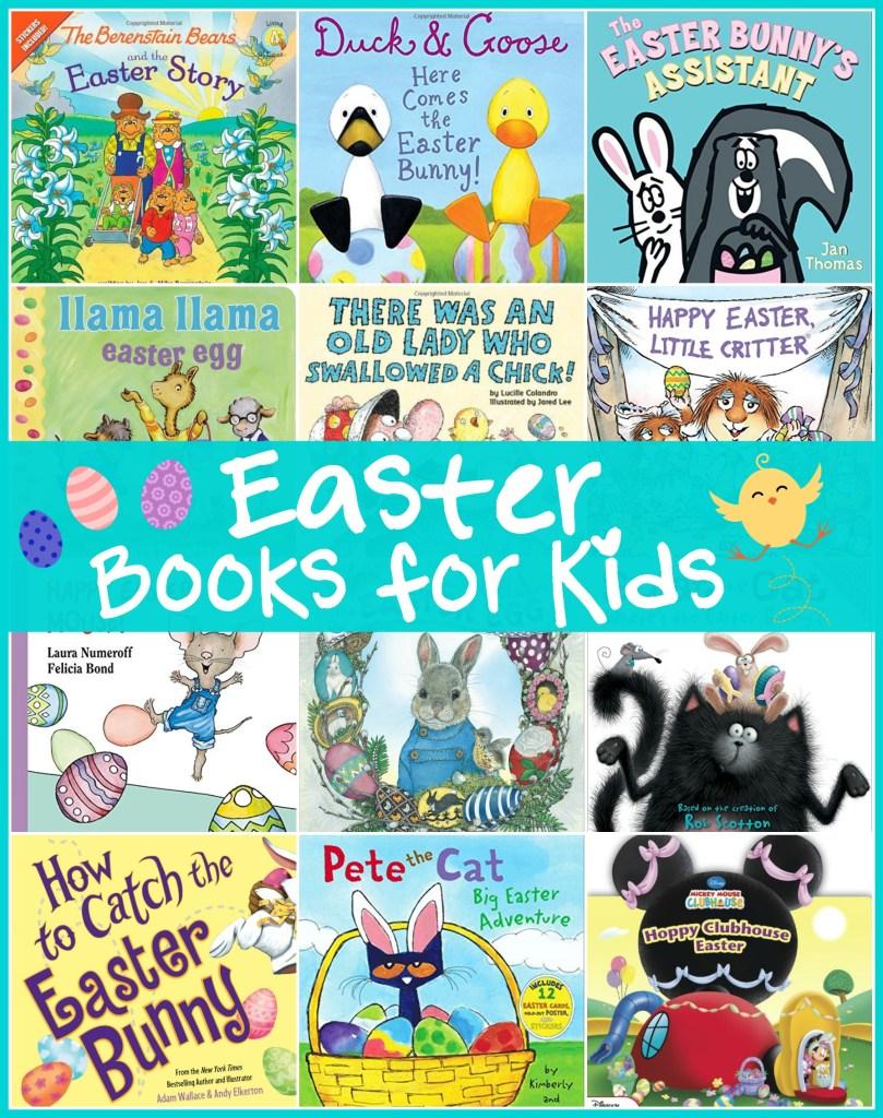 Easter Books for Kids, Kids Easter Books, Easter Books for Toddlers, Easter Books for Preschoolers