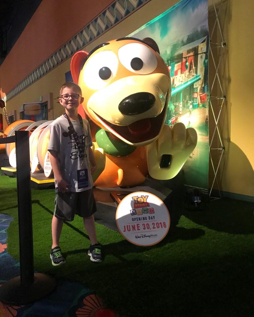 DisneySMMC Slinky Dog Toy Story Land