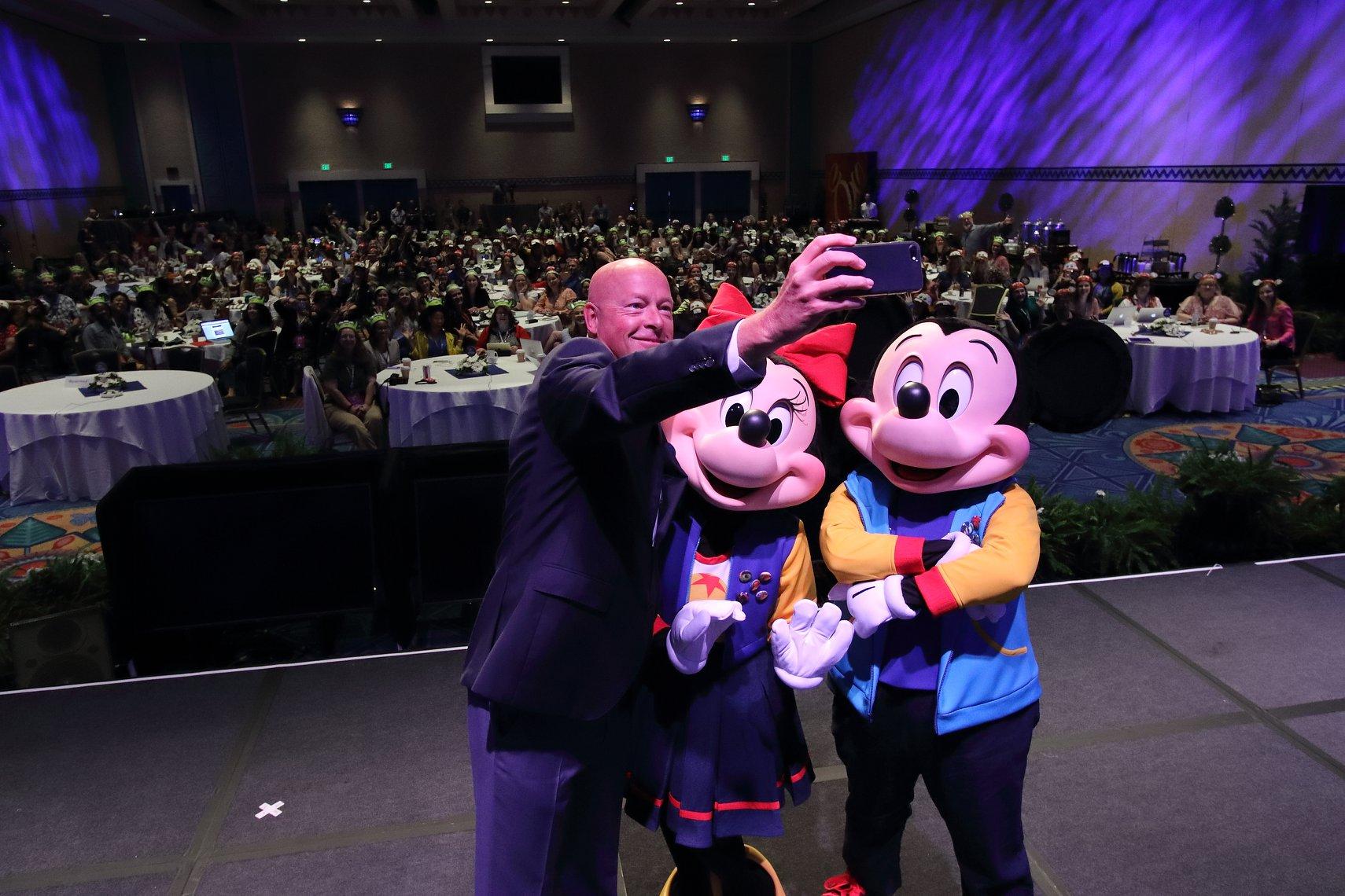 Bob Chapek Chairman Walt Disney World Resort and Parks