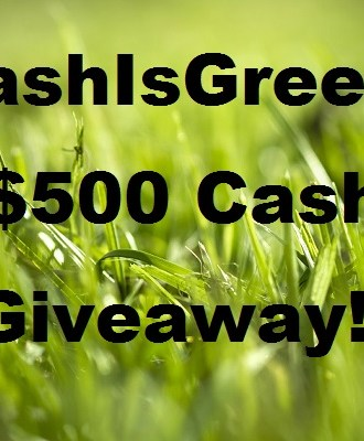 The #CashIsGreener $500 Cash Giveaway! Daily Entries!