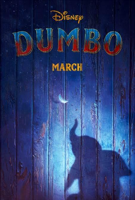 live action dumbo, dumbo poster