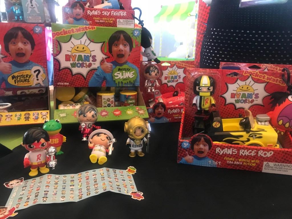 Ryan's World Toys