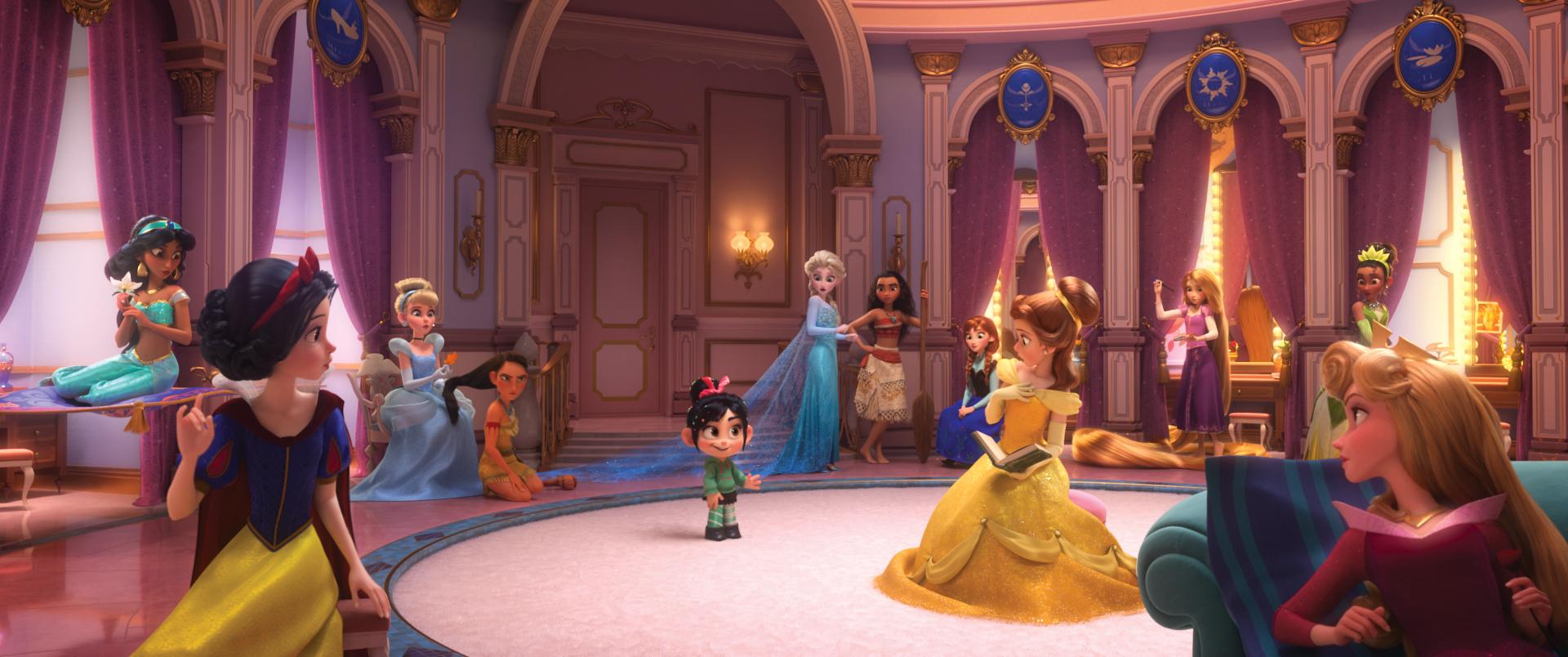 Wreck It Ralph 2 Sneak Peek, Wreck It Ralph Princess Scene