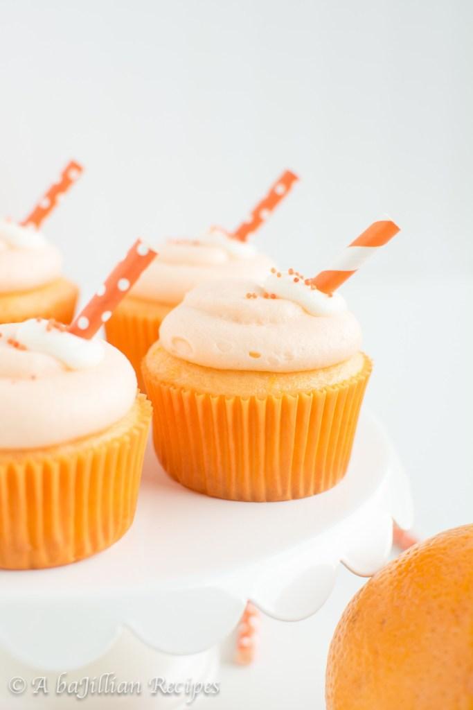 Creamsicle Cupcakes, Orange Creamsicle Cupcakes, Dreamsicle Cupcakes, Creamsicle Recipes