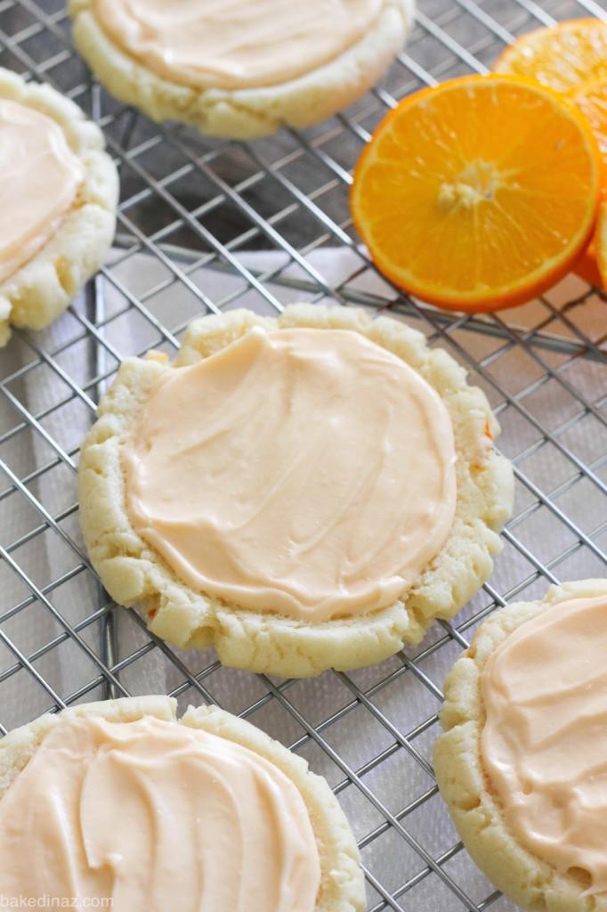 Creamsicle Sugar Cookies, Creamsicle Cookies, Orange Creamsicle Cookies, Homemade Cookies, Cookies Recipes