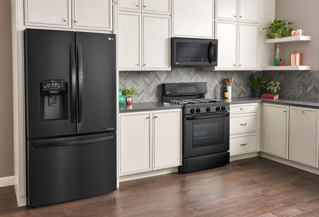 Matte Black Kitchen Appliances, LG kitchen appliances