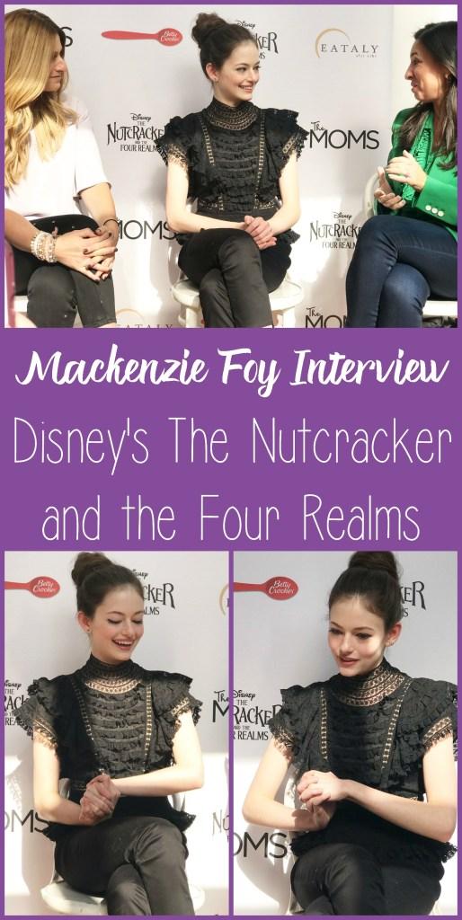 Mackenzie Foy Interview, #DisneysNutcracker, #DisneysNutcrackerEvent, #NutcrackerMOMS, #DisneySMMC
