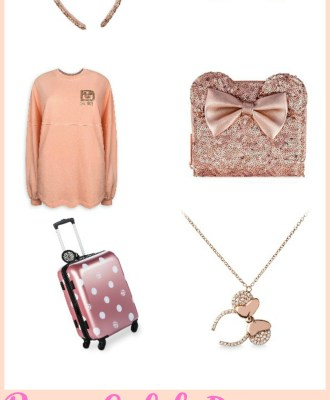 Rose Gold Disney Style Gift Guide