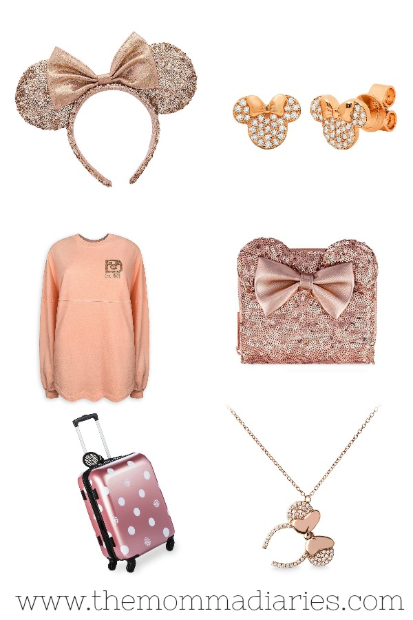 Rose Gold Disney Style