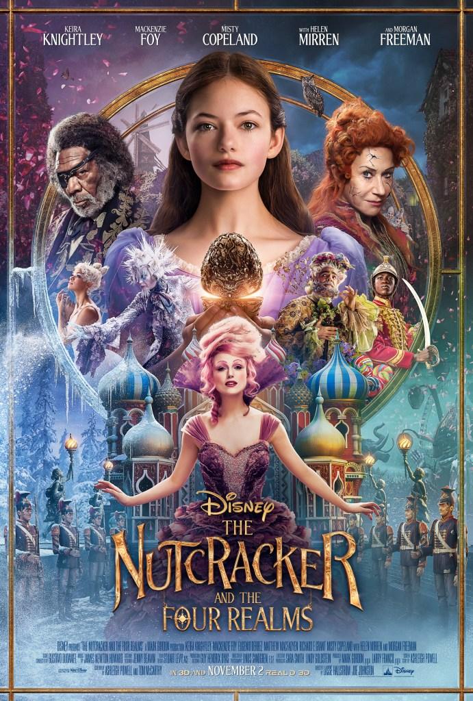 Disney's The Nutcracker and the Four Realms Poster, Mackenzie Foy Interview, #DisneysNutcracker, #DisneysNutcrackerEvent