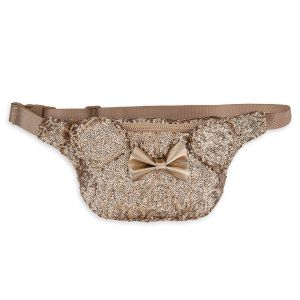 Rose Gold Minnie Hip Pack, Rose Gold Fanny Pack