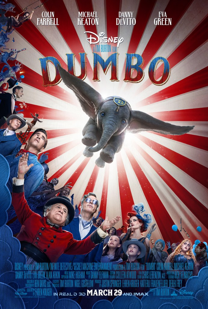 DUMBO Official Trailer, Disney's Live-Action DUMBO Official Poster, Disney's Live-Action DUMBO Official Trailer, #DUMBO, DUMBO Poster, DUMBO Trailer