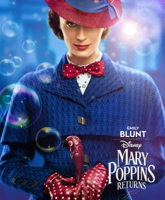 Mary Poppins Returns Character Posters + Sneak Peek!