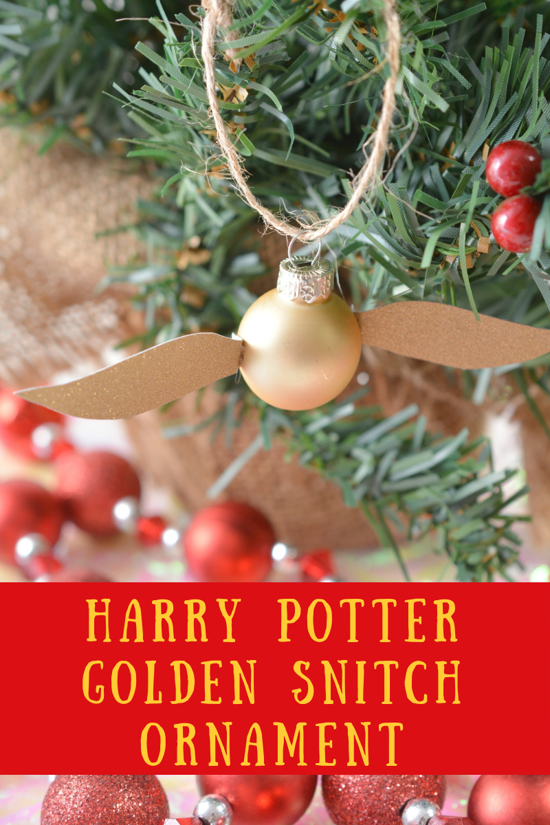 Harry Potter Golden Snitch Ornament The Momma Diaries