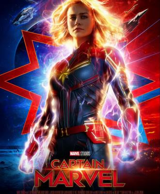 NEW Marvel Studios' CAPTAIN MARVEL Trailer + Poster!!