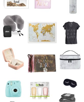 Gift Guide for the Wanderlust | Travel Gift Ideas
