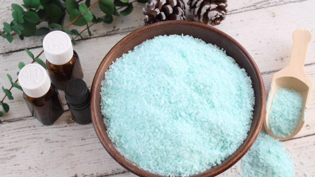 vaporizing bath salts, vapor bath salts