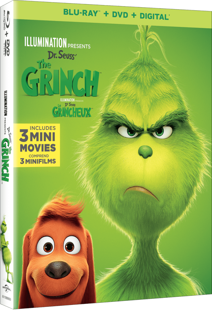 Dr. Seuss' The Grinch, the grinch DVD, The Grinch on Blu-ray, #thegrinch
