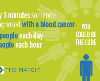 Be the Match. Save a Life.