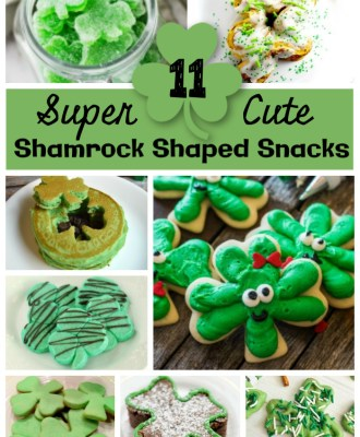 11 Super Cute Shamrock Shaped Treats