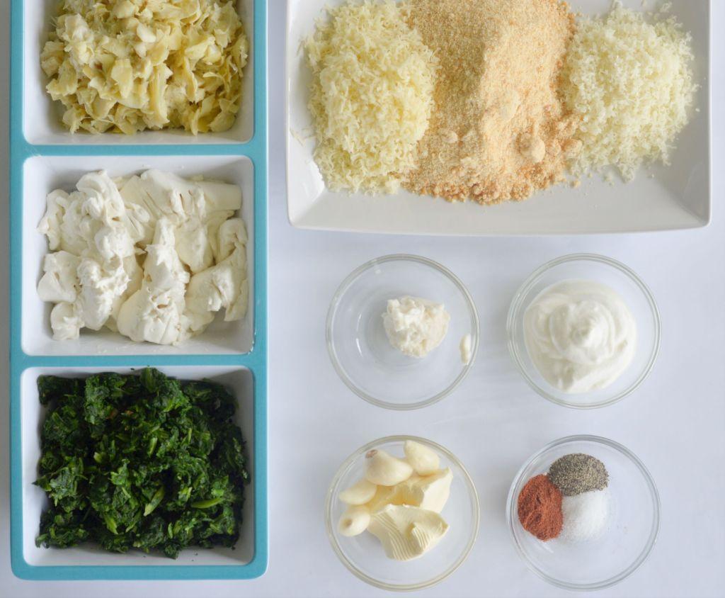 keto friendly spinach artichoke dip ingredients