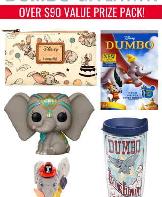 DUMBO Prize Pack Giveaway | Over $90 Value!