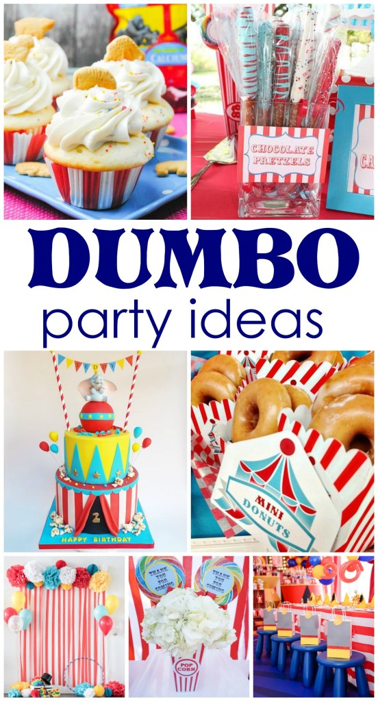 Dumbo party ideas, Dumbo Circus Party, Circus Party ideas, circus party, #Dumbo