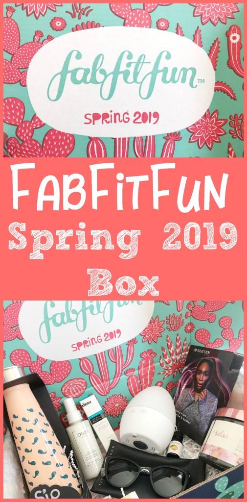 FabFitFun Spring 2019 Box, fabfitfun box, fabfitfun spring box, fabfitfun coupon code, fabfitfun promo code, #FabFitFun, #FabFitFunPartner