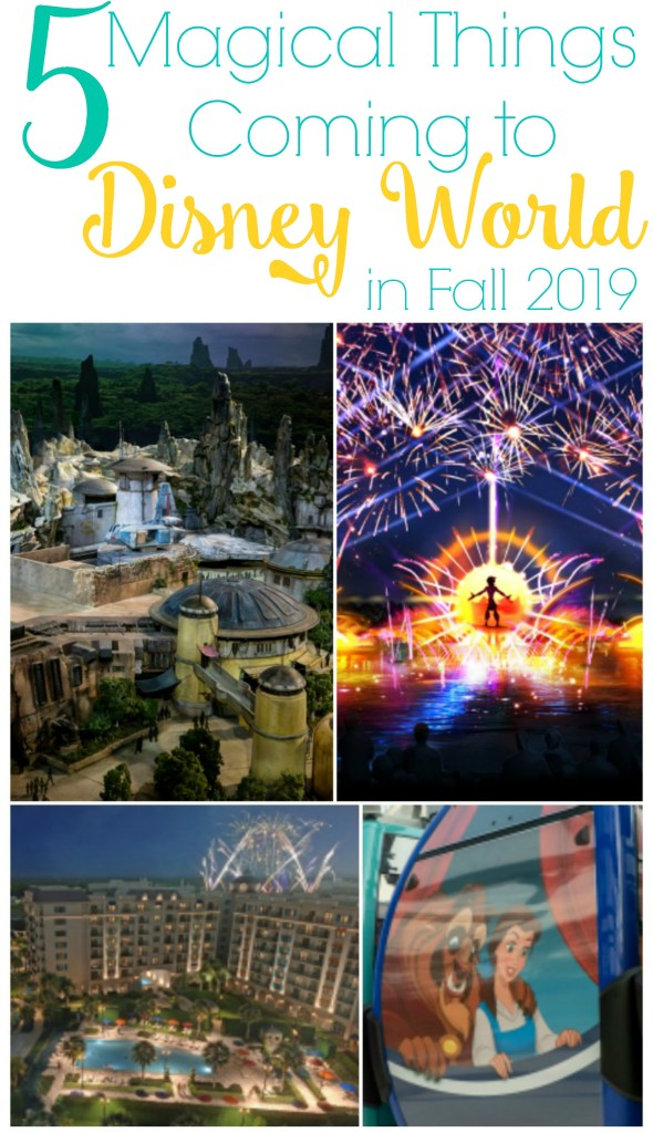 new at disney world in fall, new Disney attractions, Disney Fall 2019, Best new Disney attractions, Best upcoming Disney World attractions, New Disney Vacation Club Resort, Star Wars Galaxy's Edge, Epcot Forever, Disney Skyliner, #DisneySMC #NowMoreThanEver #DisneyParks #GalaxysEdge #DisneyWorld