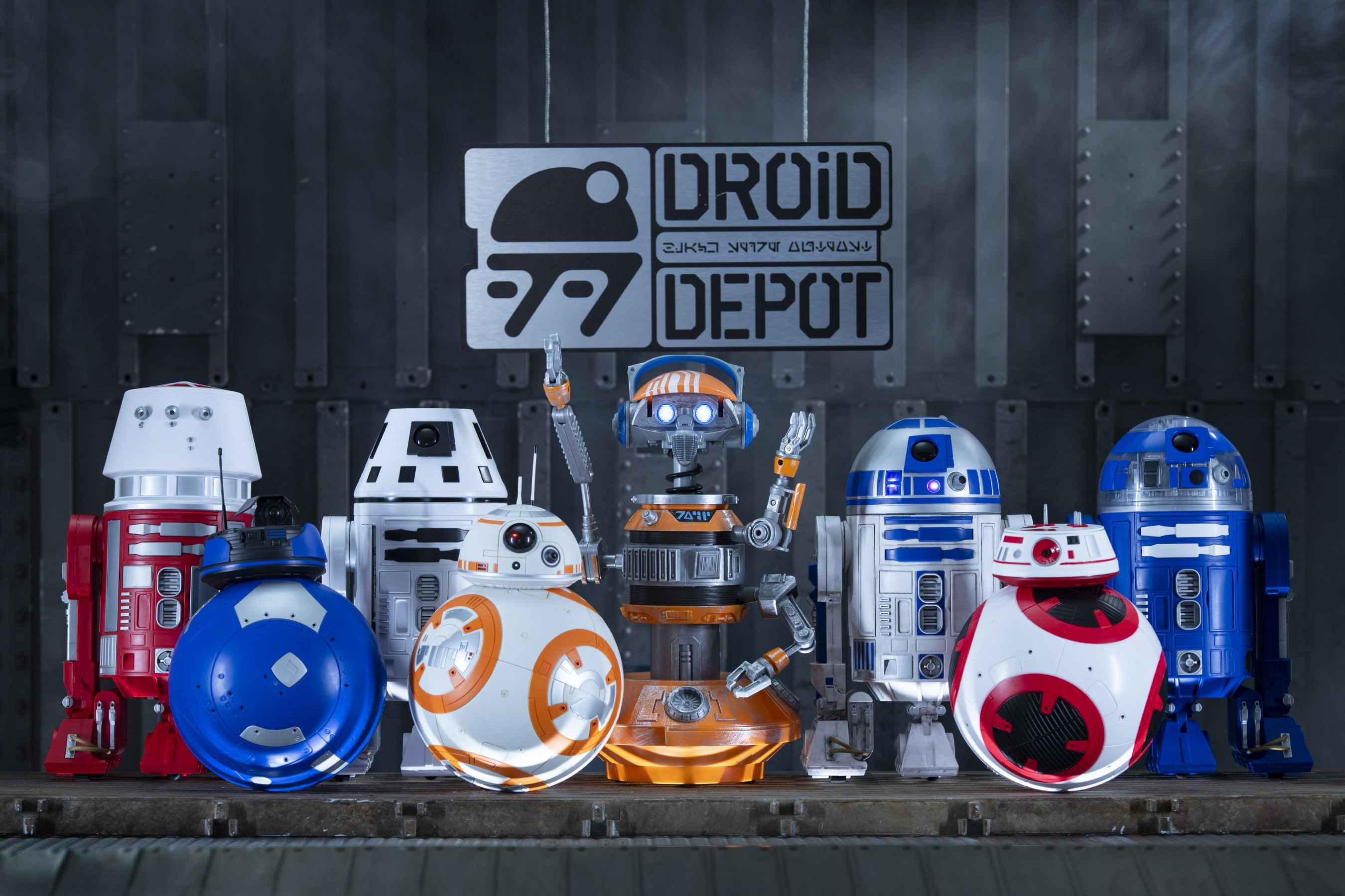Droid Depot in Star Wars Galaxy's Edge
