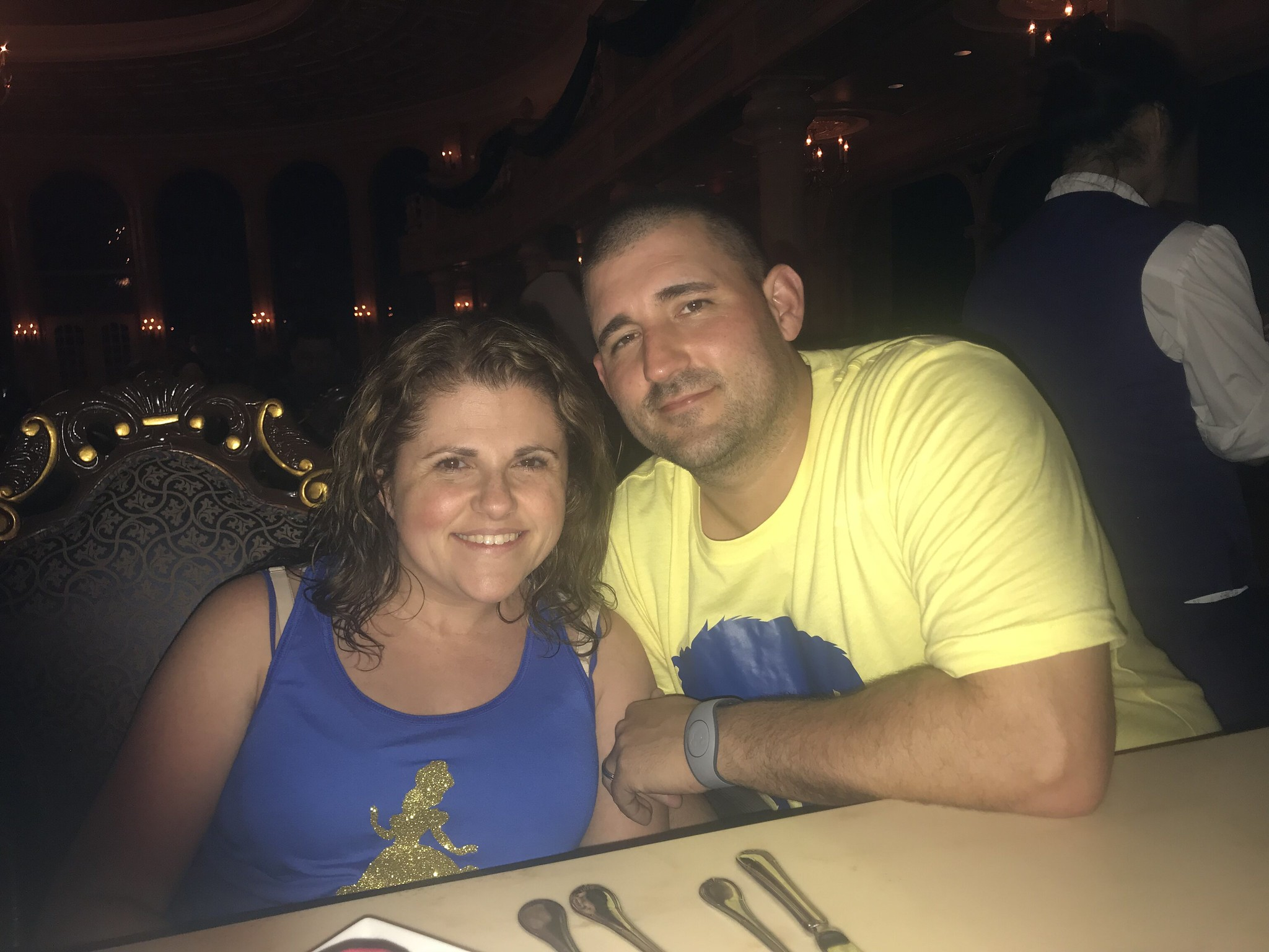 Be Our Guest Date night at Magic Kingdom