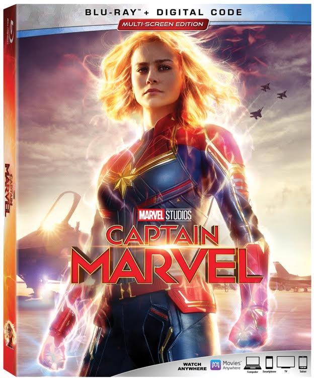 Captain Marvel Blu-ray, Captain Marvel DVD, #CaptainMarvel #HigherFurtherFaster