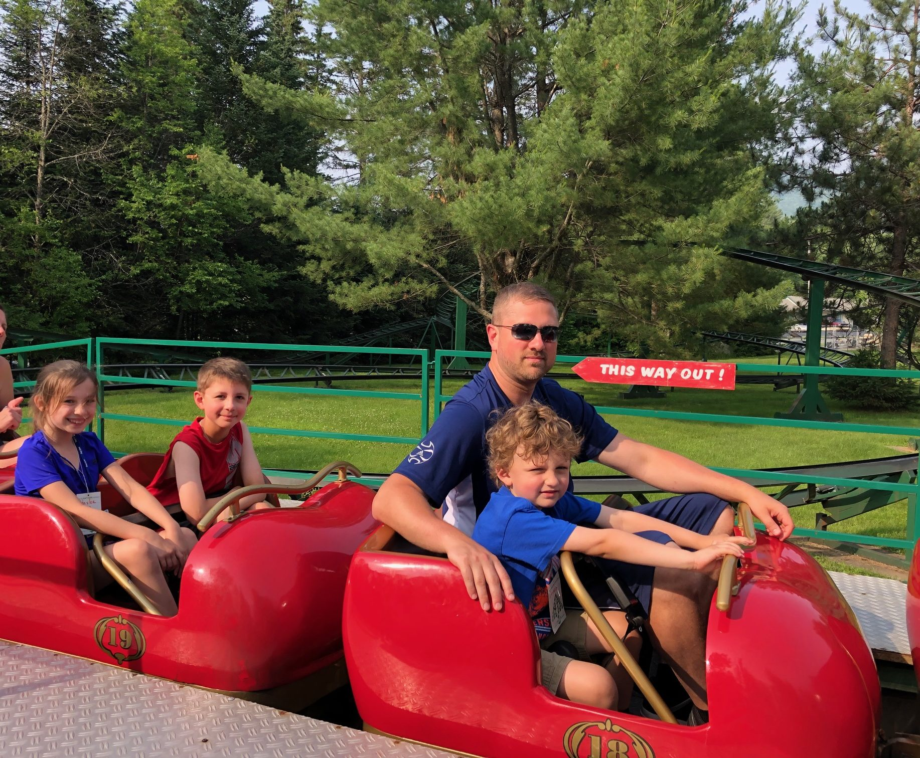 Rudy's Rapid Transit Coaster