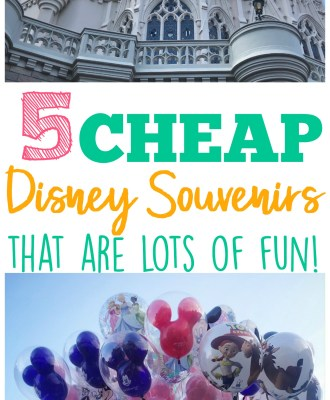 Cheap Disney Souvenir Collections That Are Lots of Fun