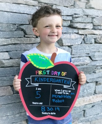A Letter to My Baby on his First Day of Kindergarten