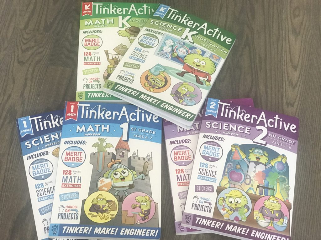 tinkeractive workbooks for kids