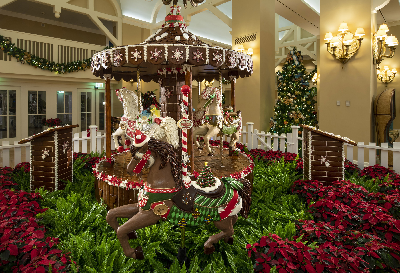 Disney's Beach Club Villa's Christmas Carousel